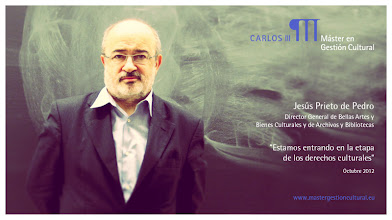Photo: Jesús Prieto de Pedro - El Derecho de la Cultura y las políticas culturales