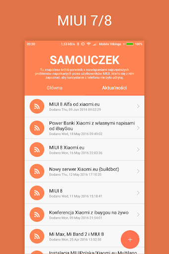 Samouczek MIUIPolska app (apk) free download for Android/PC/Windows screenshot
