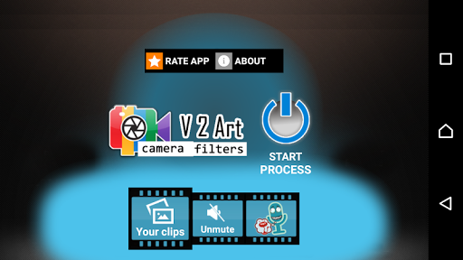 V2Art: video effects and filters for PC