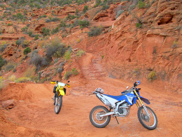 Motorcycles on the Flint Trail