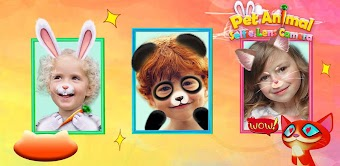 Pet Animal Party Playtime - selfie lens camera