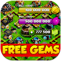 100k Gems For Clash Of Clans icon