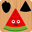 Fruits and vegetables Puzzles for Kids - FREE icon