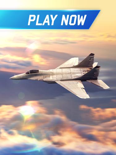 Flight Pilot Simulator 3D Free Android App Screenshot