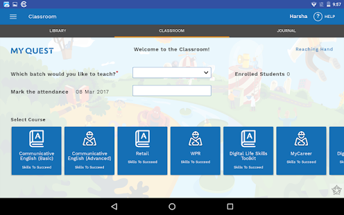 Quest Learning App - náhled