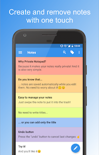 Private Notepad - notes and lists- screenshot thumbnail