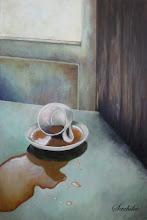 Photo: Fallen Cup Dec.2012/ Acryl, canvas M12