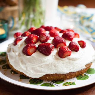 Swedish Strawberry Cake with Cardamom.