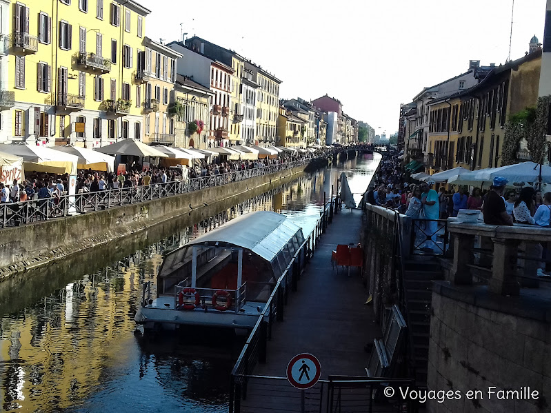 Milan Navigli - Naviglio Grande