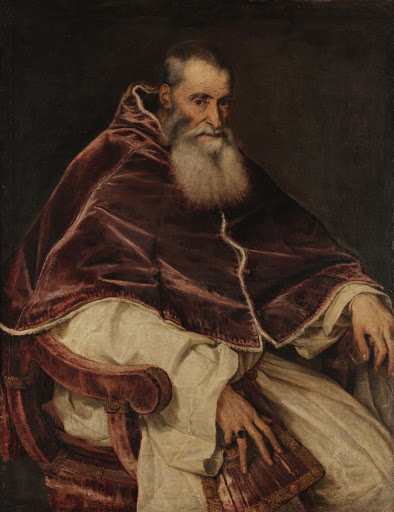 Portrait of Pope Paul III Without Cap