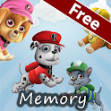 Paw Puppy Memory Game icon