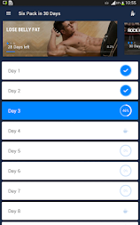 Six Pack in 30 Days - Abs Workout APK screenshot thumbnail 6