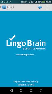 LingoBrain - German - náhled