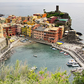 Vernazza by Renaud Igor - City,  Street & Park  Historic Districts