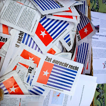 Photo: Petition cards by Free West Papua Campaign (photo: Fam. Pentury)