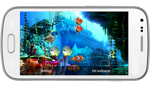 CoralReef 3D LiveWallpaper