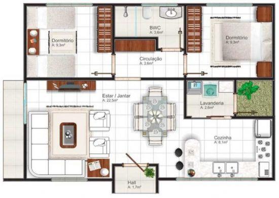 casa rectangular 2