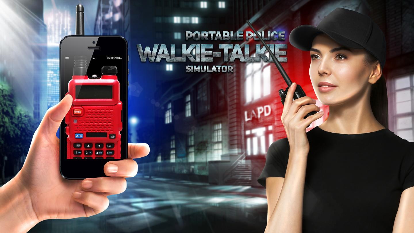 portable police walkie talkie android apps on google play