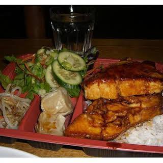 Fish Teriyaki.