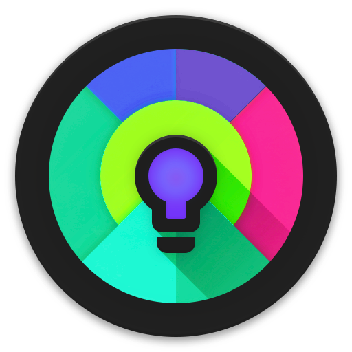 Black Light Icon Pack app for Android