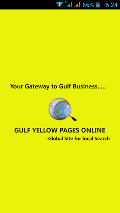 Gulf Yellow Pages Online- screenshot