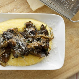 Mushrooms And Polenta