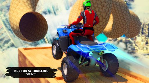 ATV Quad Bike Simulator 2019: Quad stunts Bike 4x4 screenshots 9