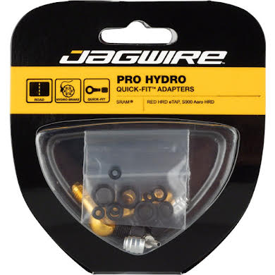 Jagwire Pro Disc Brake Hydraulic Hose Quick-Fit Adaptor, SRAM Red eTap, S900 Aero HRD Thumb