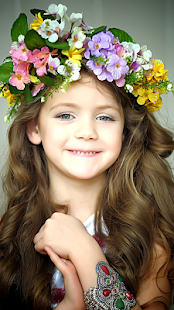 Flower Crown Photo Montage - náhled