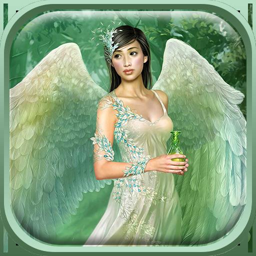 天使动态壁纸 個人化 App LOGO-硬是要APP
