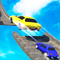 Mega Ramp Derby Car Stunts: City GT Crash Racing icon