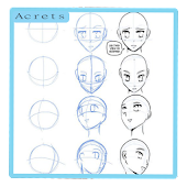 Manga Drawing Step By Step Android APK Download Free By Acrets