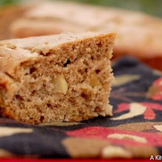 Brown Butter Apple Yogurt Snack Cake