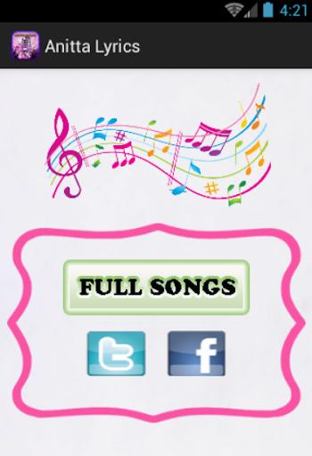 Anitta Lyrics