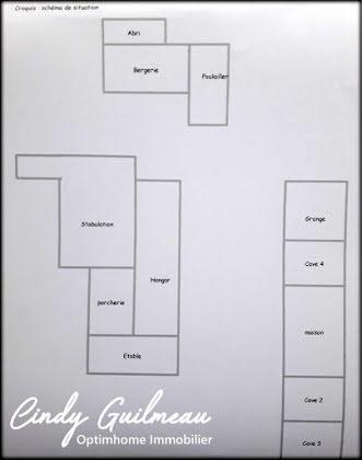 Vente ferme 5 pièces 98 m2