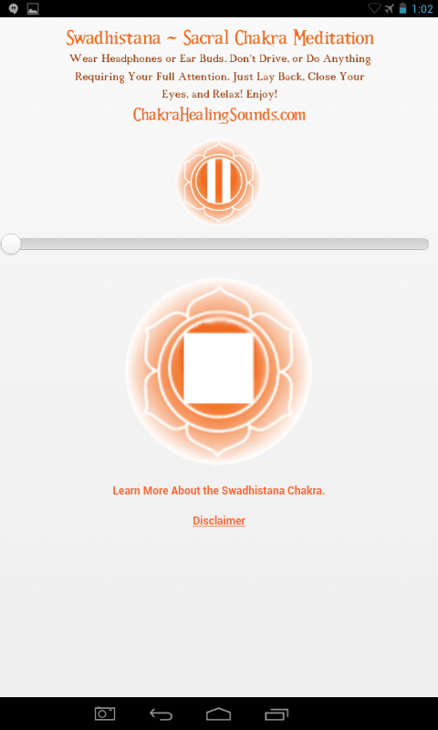 Sacral Chakra Sound Meditation- screenshot