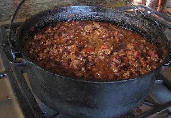 Capital Punishment Chili (sallye) Recipe