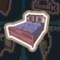 春節のベッド