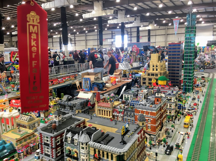 "BayLUG won ""Best in Class"" at Maker Faire!"