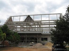 Photo: stavba chrámu