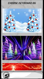 Vánoční strom klávesnice - náhled