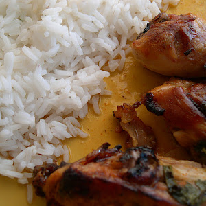 Roasted Chicken with Orange Honey Glaze