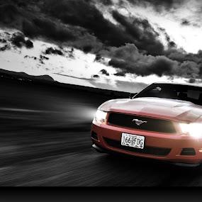 Mustang drive by Mukul Soman - Transportation Automobiles