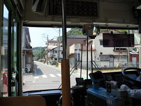 西鉄バス宗像「志賀島ぐりーん」 5718 車窓 その5