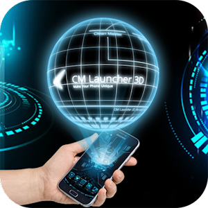 3D Next Tech Theme Launcher for Huawei Samsung