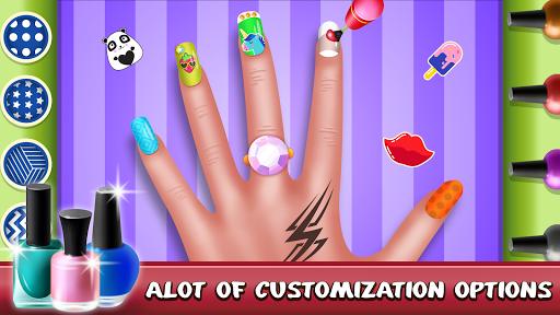 Nail Art Salon Makeover: Fashion Games android2mod screenshots 6