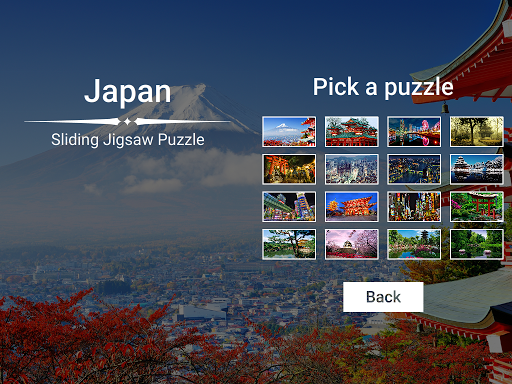 Japan Sliding Jigsaw