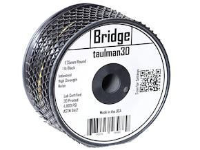Taulman Black Bridge Filament - 1.75mm (1lb)