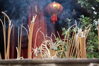 Photo: Day 229 - Incense at the  Ngoc Son Temple, Ha Noi (Vietnam)