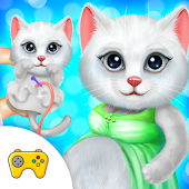 Kitten Newborn Doctor Clinic Checkup Game